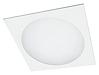 Встраиваемые светодиодные прямоугольные светильники CORONA C LED с круглым рассеивателем