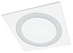 Встраиваемые светодиодные прямоугольные светильники CORONA R LED с рассеивателем в виде кольца