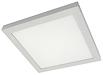 белые светодиодные накладные светильники с опаловым рассеивателем BOOTES LED
