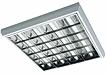 люминесцентные потолочные светильники с зеркальной параболической решеткой MISTRAL T8/T5