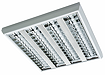 люминесцентные потолочные светильники с зеркальной параболической решеткой SIROCCO T8
