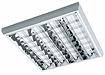 люминесцентные накладные светильники с зеркальной решеткой BREEZE T8/T5