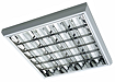 люминесцентные накладные светильники с зеркальной решеткой PASSAT T8/LED
