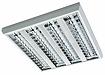 люминесцентные накладные светильники с зеркальной решеткой SIROCCO T8