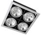 карданные потолочные светильники PEGASUS LED 4x