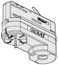 Мультиадаптер XTSA 68 для трековой системы освещения GLOBAL Trac PRO