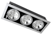 потолочные поворотные светильники направленного света PEGASUS LED 3x