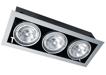 черный карданный светильник PEGASUS HID 3x