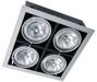 черный карданный светильник PEGASUS HID 4x