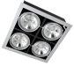 светильники карданного типа PEGASUS LED 4x