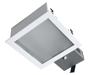 встраиваемые потолочные квадратные светильники TETRA SOP IP44